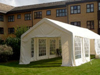 Corporate marquee hire in Sawtry, Cambridgeshire