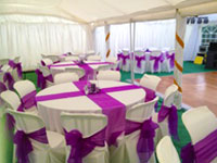 Wedding marquee hire in Sawtry, Cambridgeshire