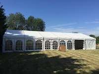 9m x 18m Wedding Marquee