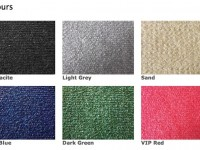 Carpet colour options