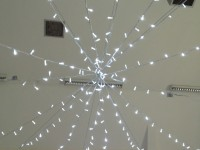 Fairy Lights in village Hall