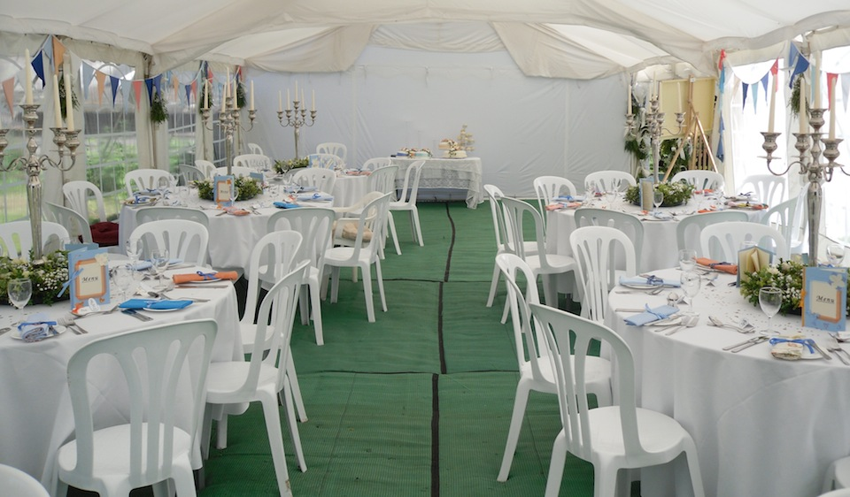 Interior layout ideas sawtry marquees 6m wide marquee pole decorations junglespirit Gallery