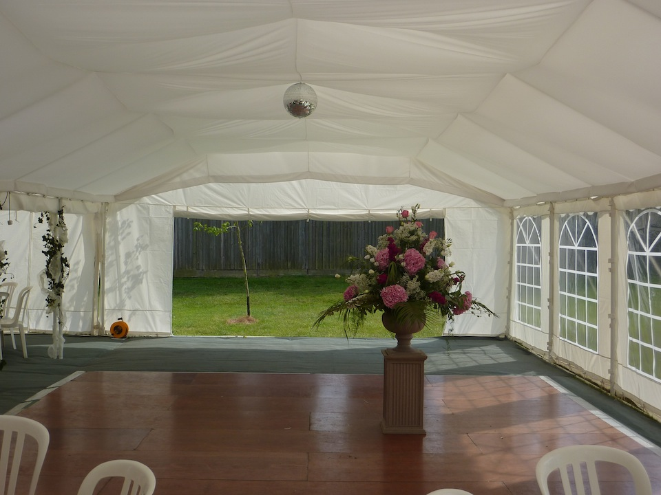 Sawtry Marquees : Case study four  Sawtry Marquees