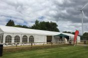9m x 30m marquee for the The Classic Corvette Club UK