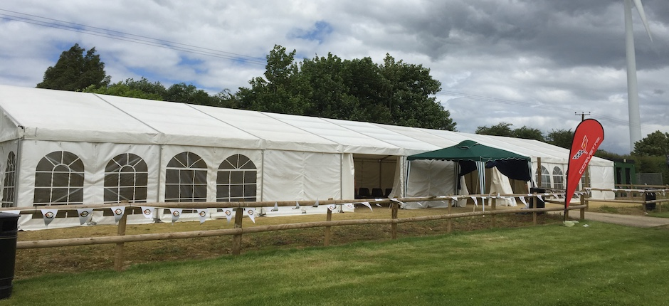 Marquee hire to beat the British weather
