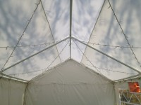 Fairy Lights in 3m wide marquee