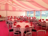 Pink Carpet in a 9m marquee